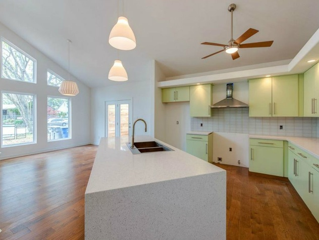 Kitchen at 8702 San Fernando in Dallas