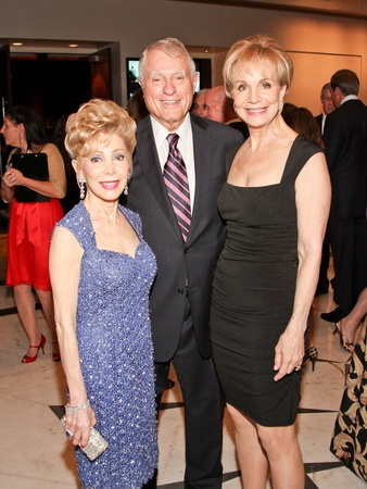 Medical Bridges gala, October 2012, Margaret Alkek Williams, Jim Daniel, Leisa Holland-Nelson