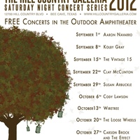 Austin photo: Events_Hill Country Concert Series_Poster