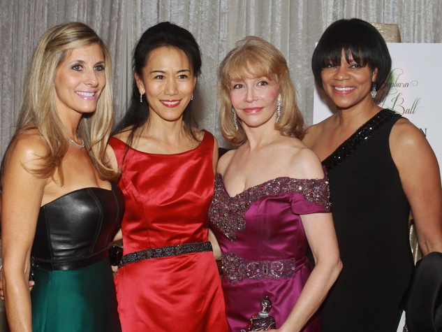 244 UNICEF Houston gala September 2013 Gina Bhatia, from left, Y. Ping Sun, Susan Boggio and Suzette Brimmer