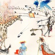 Off the Wall Gallery Salvadore Dali September 2013 Burning Giraffe