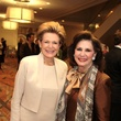 Barbara Hurwitz, left, and Elyse Lanier at the Houston Living Legend fundraiser dinner May 2014