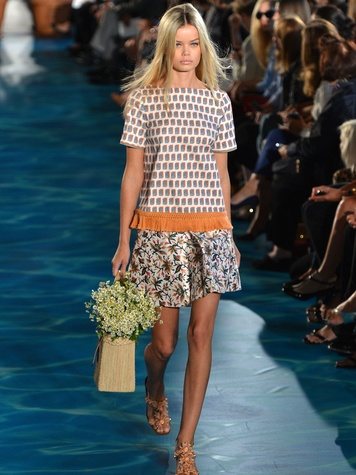 Fashion Week spring summer 2014 Tory Burch 2