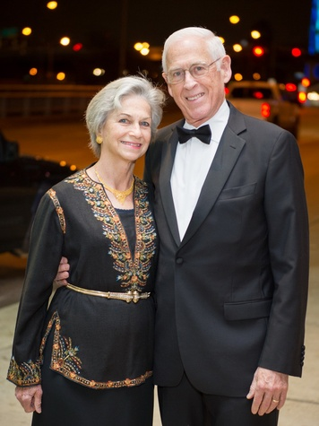 13 Anne and Dr. John Mendelsohn at HGO Concert of Arias February 2014