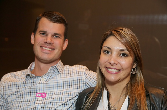 57 Adam Johnson and Claudia Sartori at the Asia Society Texas Center Kobe beef Cook-off December 2014