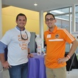 1 Beau Burgin, left, and Evan Kuterbach at young professionals build Tiny Libraries September 2014