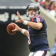 Matt Schaub Texans throw