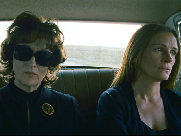 August Osage County with Meryl Streep and Julia Roberts