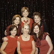 Jean Chapman, Robyn Barnes, Beth Wolff, Suzy Sherron, Susan Hansen, and Denice Pittman at the Go Red For Women luncheon May 2014