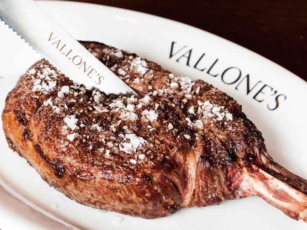 Houston, Vallone's Steakhouse, June 2015, steak