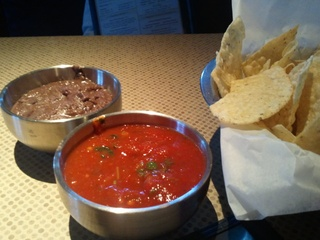 Gloria's, Chips and Salsa, June 2012