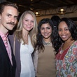 Will Evans, Libby Cook, Vidya Ayyr, Brandi Simpson, United Way Pecan Lodge Kickoff party