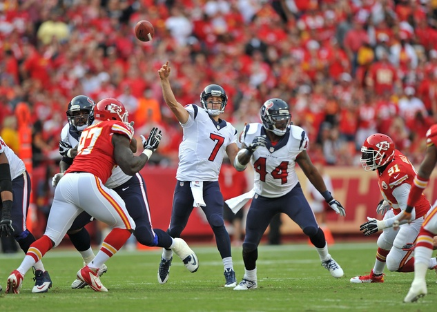 Case Keenum Texans Chiefs