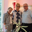 Beverly Robinson, Leslie Robinson, Russ Robinson at Planned Parenthood Fine Art Auction