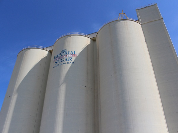 Imperial Sugar Land_sugar silos