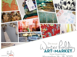 Seventh Annual Fresh Arts Winter Holiday Art Market