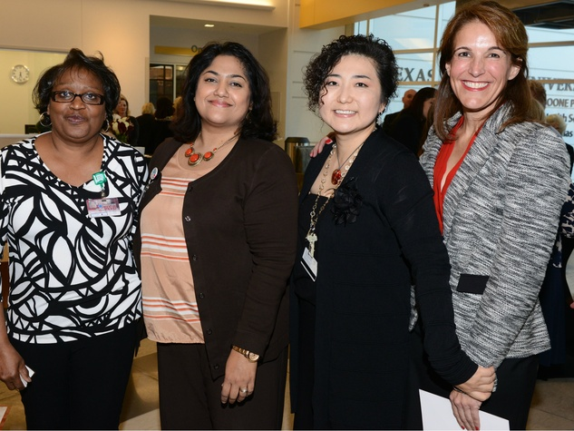 Nursing faculty: Margie Norris, Shopha Tserotas, Dr. Kyoung Lee, Dr. Michelle Kimzey, TWU Celebration