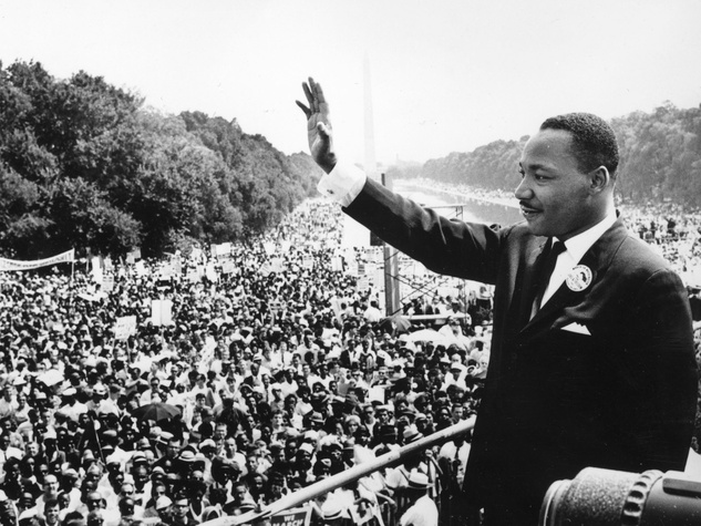 Martin Luther King Jr., speech, I Have  Dream