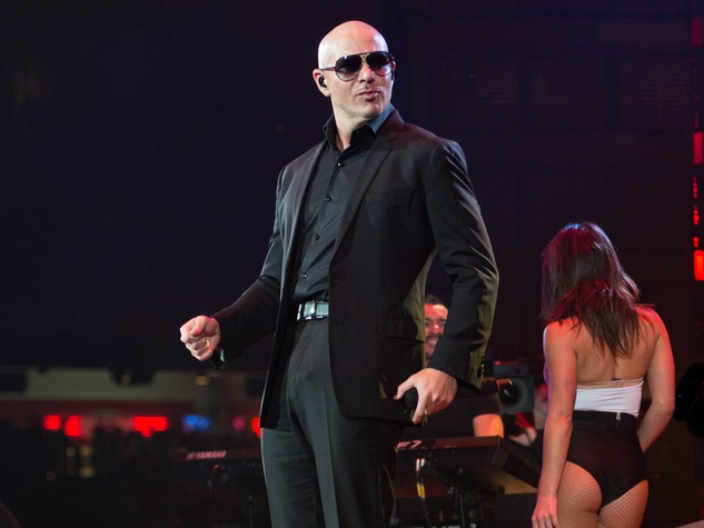Pitbull at Houston Rodeo