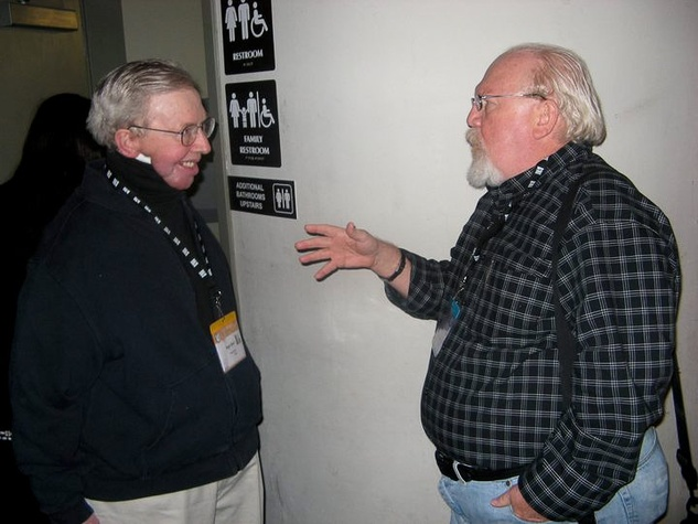 Roger Ebert, Joe Leydon at SXSW 2011