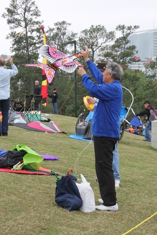 63 Hermann Park Kite Festival March 2014