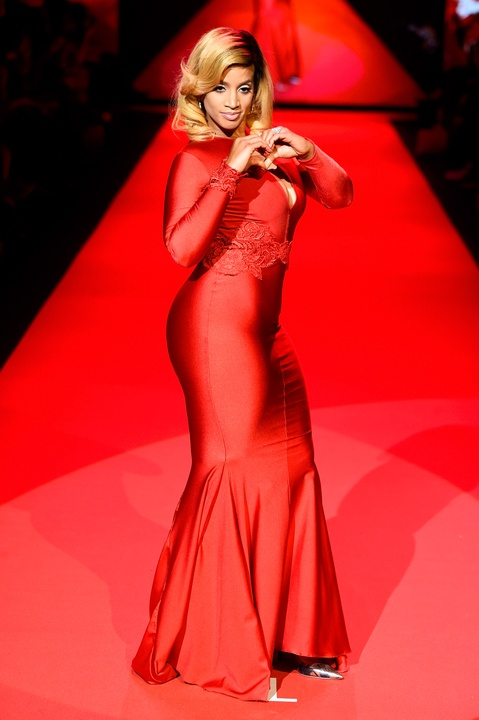 31 Clifford New York Fashion Week Fall 2015 Go Red for Women February 2015 Dascha Polanco from Orange Is the New Black