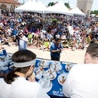 Houston Greek Festival Niko Niko's gyro eating contest crowd venue May 2013