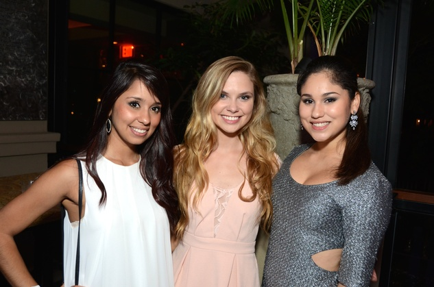 15 Ryan Chapa, from left, Brittany Roy and  Kendall Chapa at the Blue Cure Foundation benefit party at Hotel ZaZa June 2014