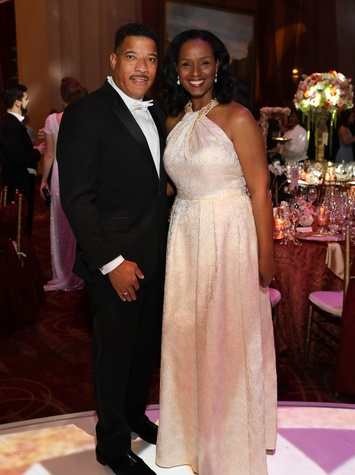 Houston, Houston grand opera ball, April 2017, Winell Herron, Doug Herron