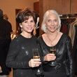 Linda Reid, left, and Jan McMillan at the Pamella Roland runway show at Elizabeth Anthony November 2014