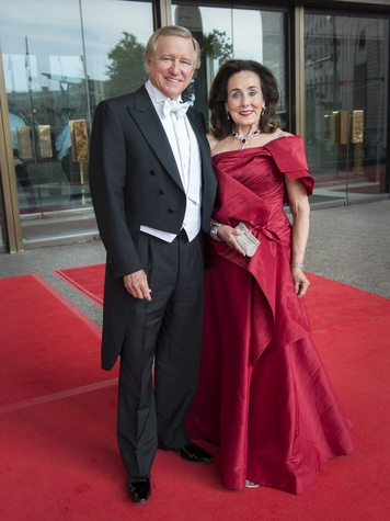 24 Jesse and Betty Tutor at the Houston Symphony Centennial Ball May 2014