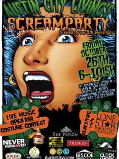 Austin Photo Event_Scream Party Benefitting The Lone Star Paralysis Foundation