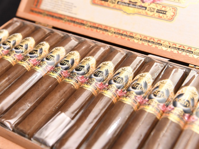 The Briar Shoppe Cigars at Guy's Night Out party at IW Marks Jewelers