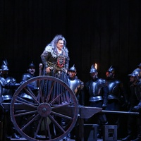 Houston Grand Opera Il trovatore April 2013 Dolora Zajick as Azucena