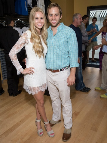 brooke foley, sam silliman, speeflex grand opening