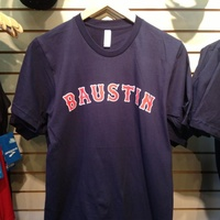 Baustin t shirt at Rogue Running