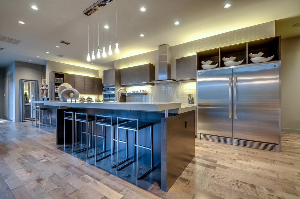 Modern style homes dallas