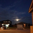 The Super Moon is officially out. Perseid meteor shower later tonight. August 2014
