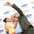 Joe Zee and friends at Old Navy party in New York