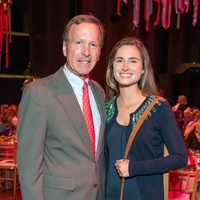 Neil Bush and Lauren Bush Lauren at the SPA luncheon with Lauren Bush Lauren October 2014