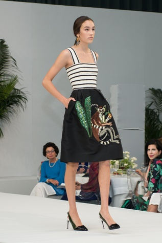 Oscar de la Renta 2018 resort collection monkey