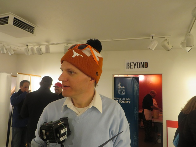 Phil Goetz at Film Texas party at Sundance Film Festival January 2013