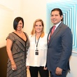 5 Natalia Ferreyra, from left, Caroline Stearns and Sebastien Campos at the Texas Contemporary Art Fair VIP opening party October 2013