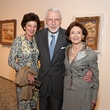 16 Kathy Goossen, from left, with Melvyn and Cyvia Wolff at the MFAH Georges Braque opening reception February 2014