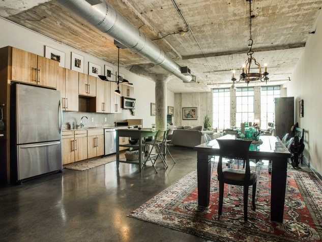 With This Loft You Can Live Large In Downtown Dallas For Under - Loft apartments downtown dallas