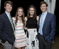 News, Shelby, Rienzi Spring Party, April 2015, Will Booth, Kaherine Bookout, Kate and Anthony Fazio