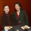 44 Monica Hwang, left, and Melissa Kwan at the Asia Society Texas Center Kobe beef Cook-off December 2014