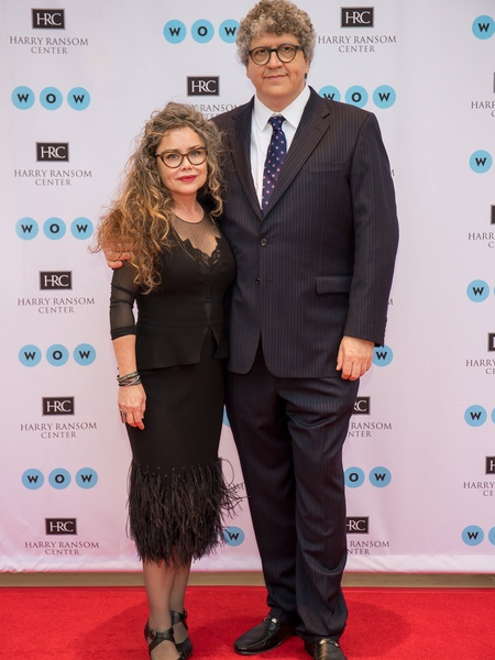 Ransom Center World of Wonders Gala 2017 Carolina Alcocer Sergio Alcocer
