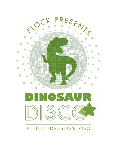 "Flock presents ""Dinosaur Disco"" at the Zoo"