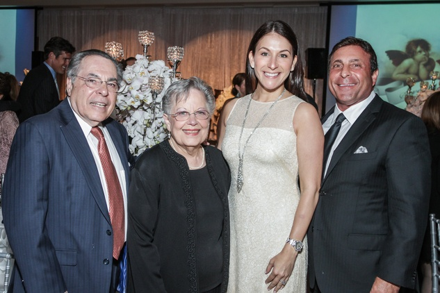 Houston, Mission of Yahweh Gala, May 2015, Johnny and Rosie Carrabba, Randi and Johnny Carrabba